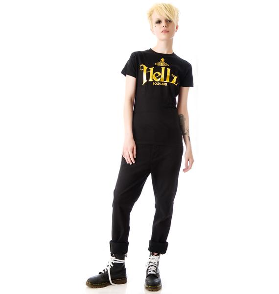 HLZBLZ x Belle of the Brawl Bold Label Slim Fit Tee
