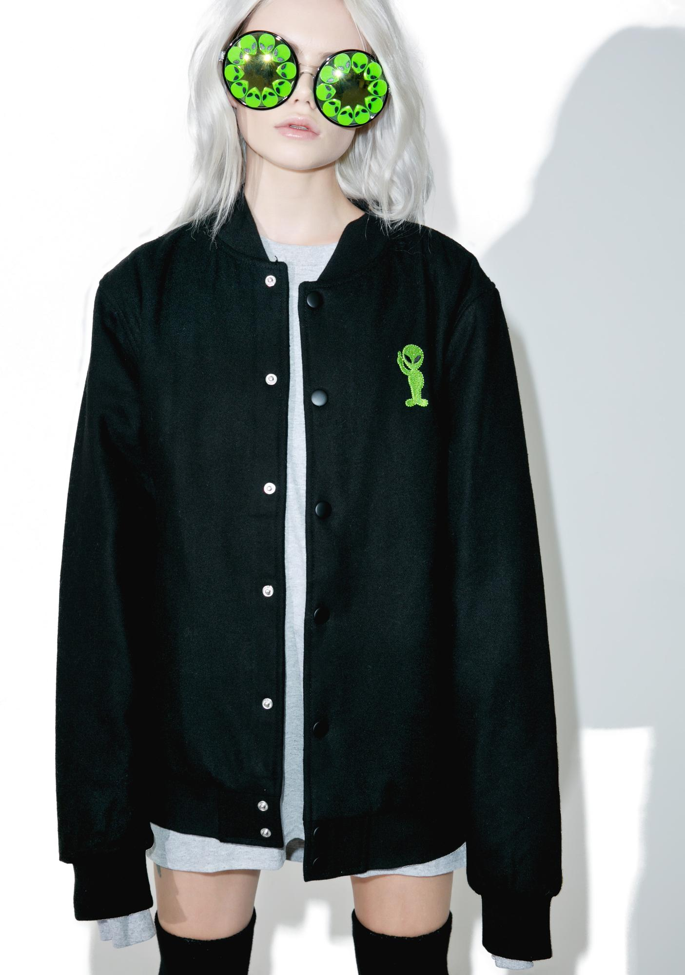 6dd0ab808cd RIPNDIP Get Outer Here Varsity Jacket | Dolls Kill