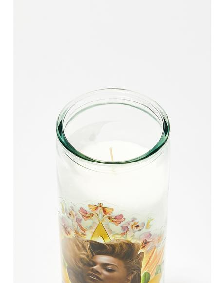 Our Lady Of Lemonade Altar Candle