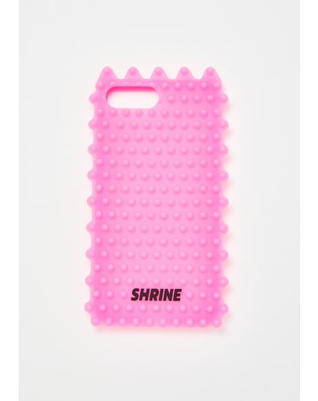 Neon Pink Phone Case