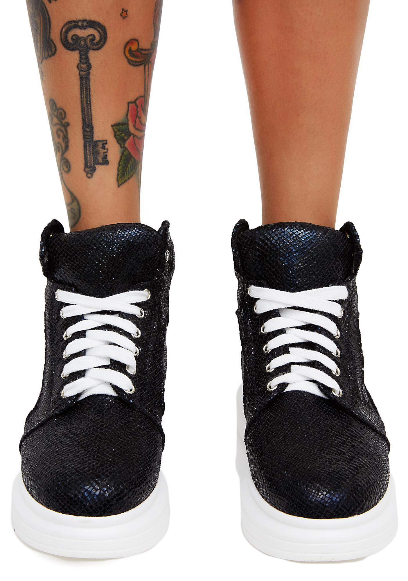 Slither In Platform Sneakers
