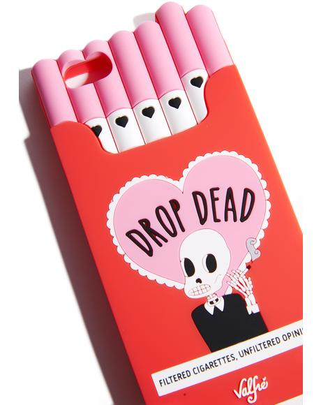 Drop Dead Cigarette iPhone Case