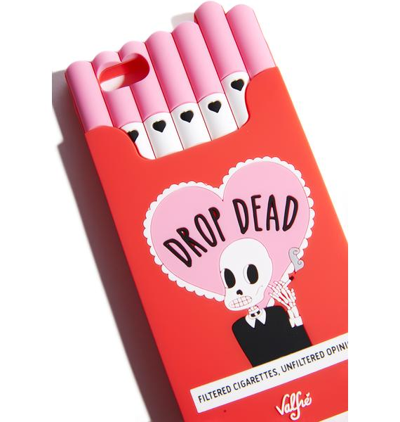 Valfré Drop Dead Cigarette iPhone Case