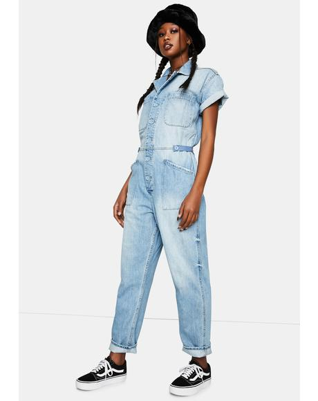 Blue Denim Grover Jumpsuit