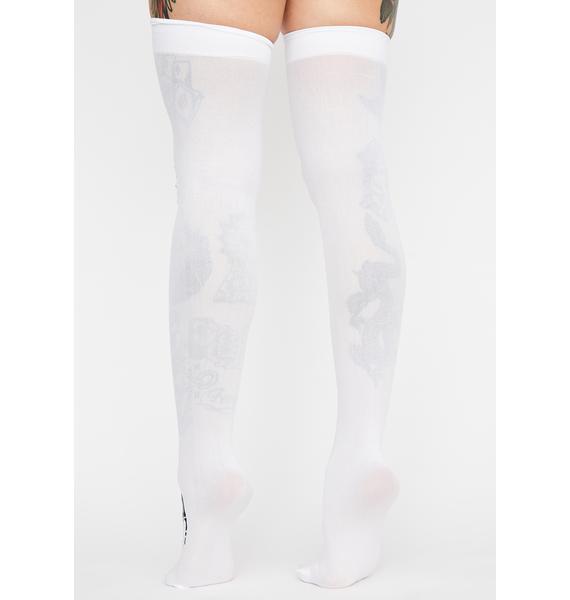 Night Creeperz Skeleton Stockings