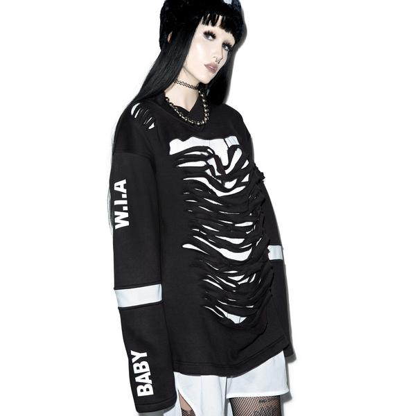 W.I.A Destroyed Sweater