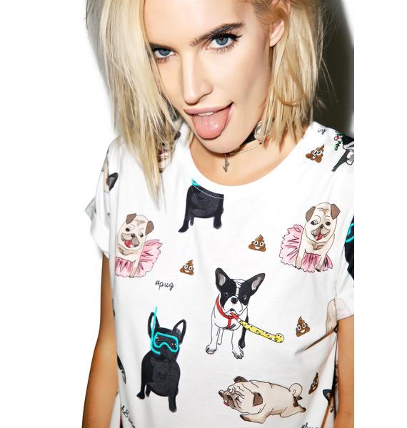 Yeah Bunny Pups N Poop Tee