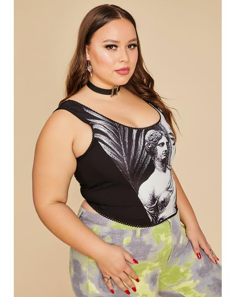 The Laws Of Nature Corset Tank