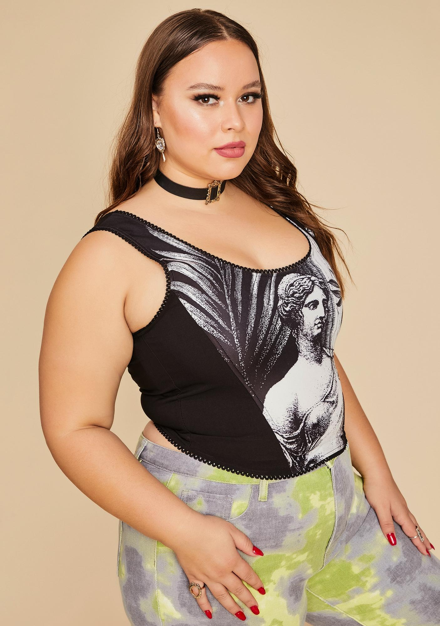 Current Mood The Laws Of Nature Corset Tank