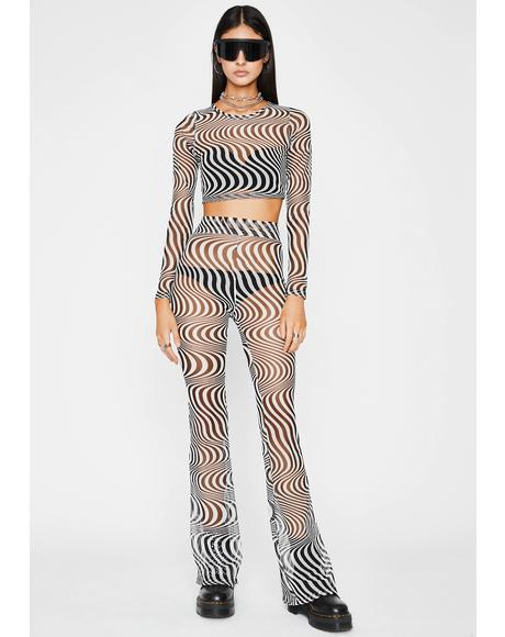 Trippy This Just In Pant Set