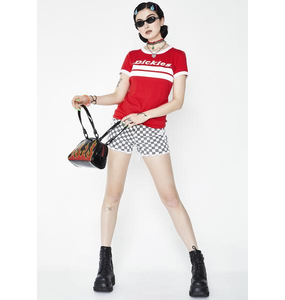 Dickies Girl Ringer Tee