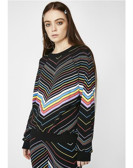 Island Chevron Sommers Sweater