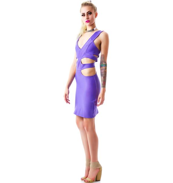 Tiger Mist Merry Go Round Mini Dress