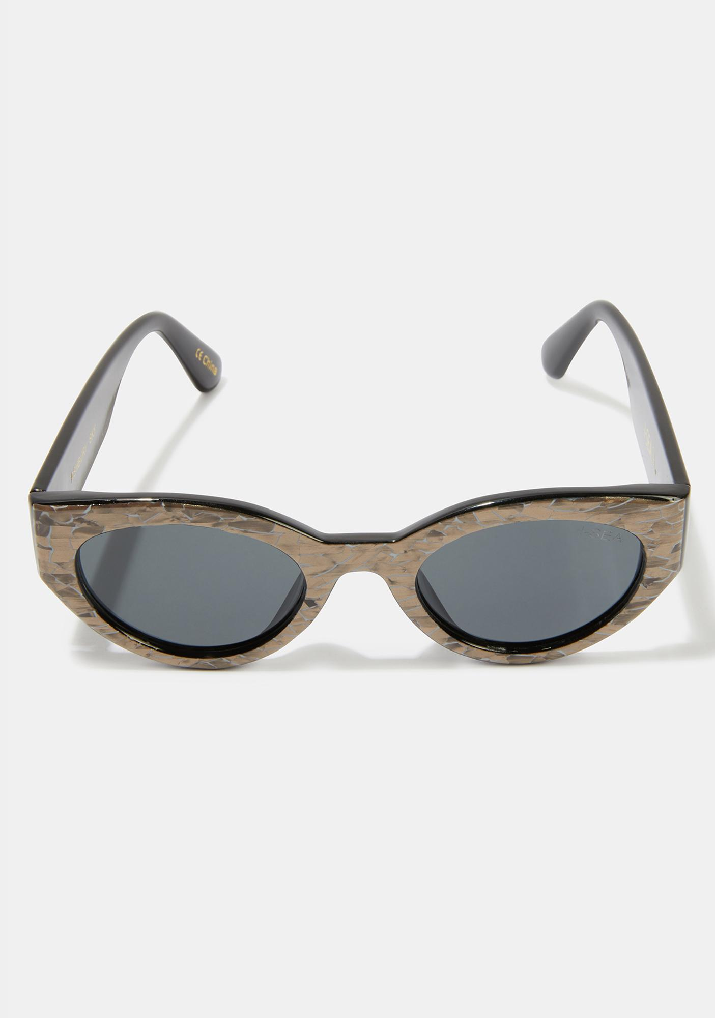 I-SEA Ashbury Sky Pearl Smoke Sunglasses