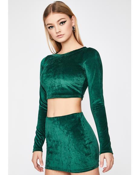 Emerald Bless Me Corduroy Set