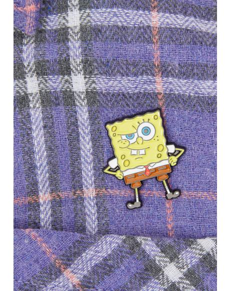 Spongebob Squarepants Enamel Pin