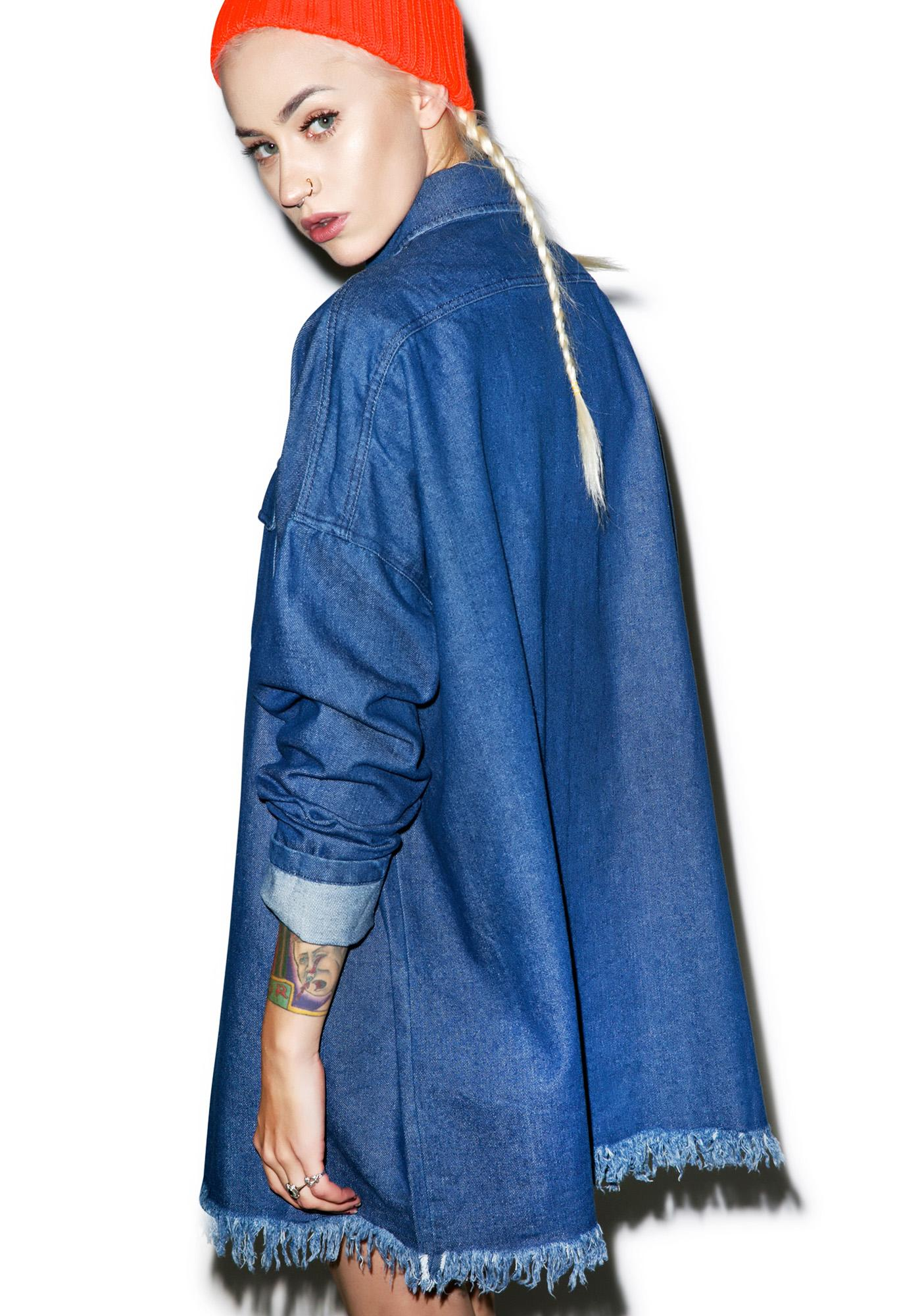 Telluride Oversize Denim Shirt