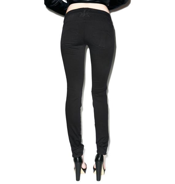 Tripp NYC Side Zip Jeans