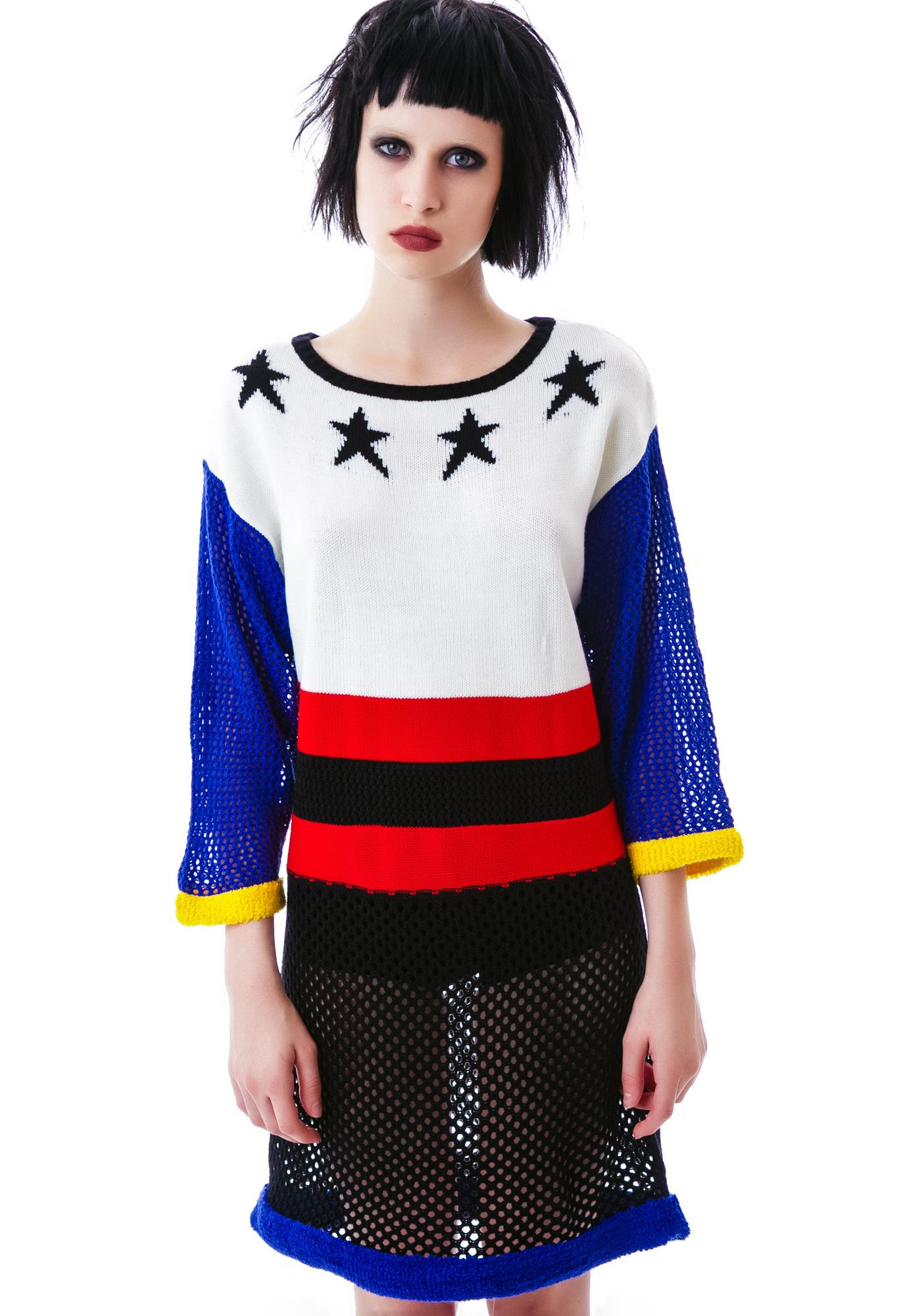 Salute Yer Stars Sweater Dress