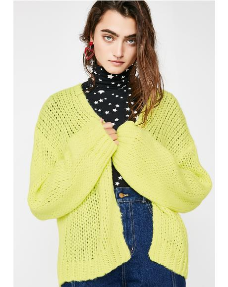 Lime In The Coconut Cardigan