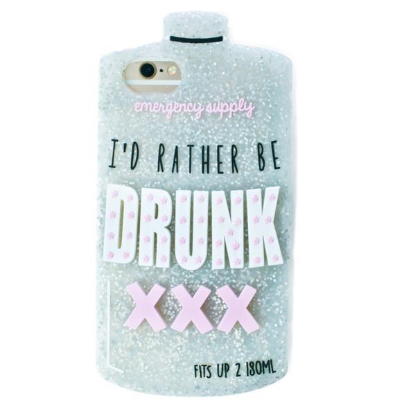 Skinnydip Rather Be iPhone Case
