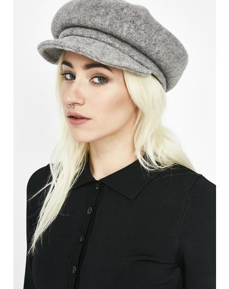 Stoned Strange Timez Baker Boy Hat