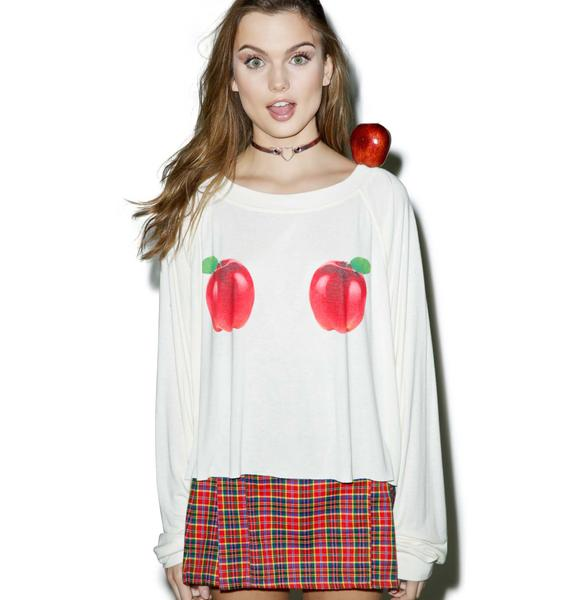 Wildfox Couture How Do You Like Them Apples Luca Crop