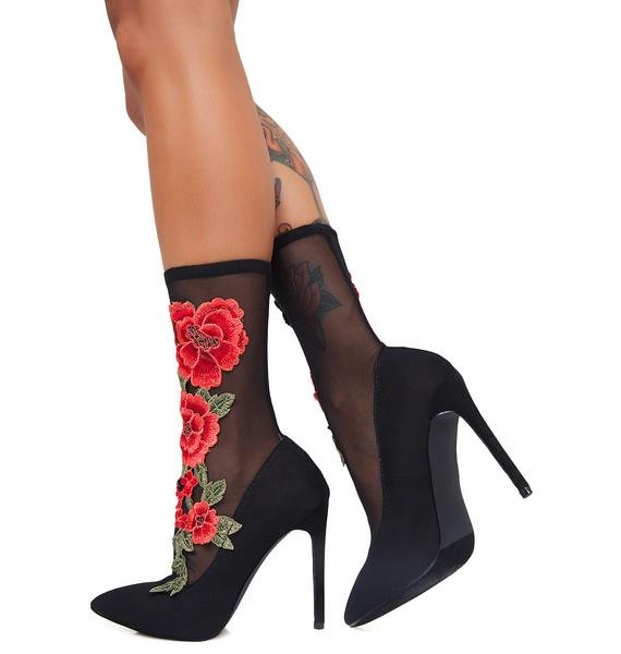 All That Sass Rose Heels