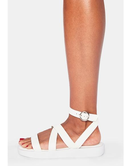 Icy Take A Roadtrip Strappy Sandals