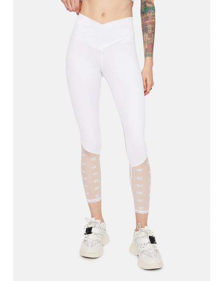 Ivory Star Playa Sporty Leggings