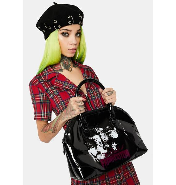 Rock Rebel Bride Gets Ready Handbag