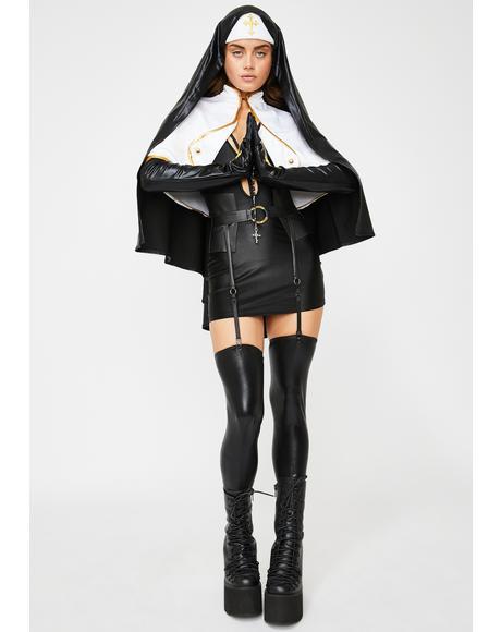 Blasphemous Babe Costume Set