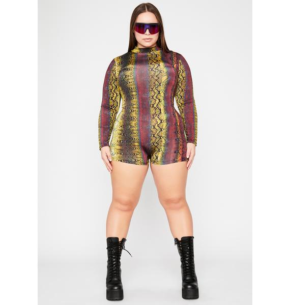 Toxic Totally Chaotic Cobra Romper