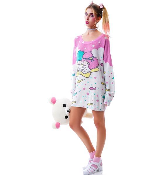 Japan L.A. Little Twin Stars Knit Sweater