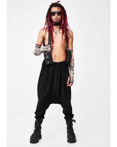 Dark Acid Ninja Unisexx Joggers