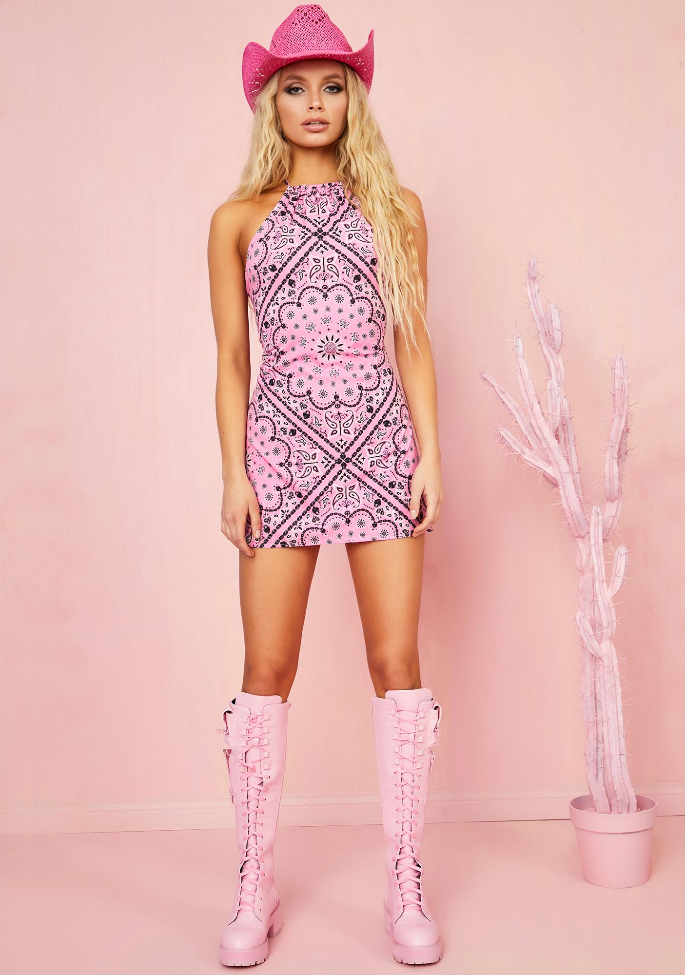 Sugar Thrillz Candy Bandit Mini Dress