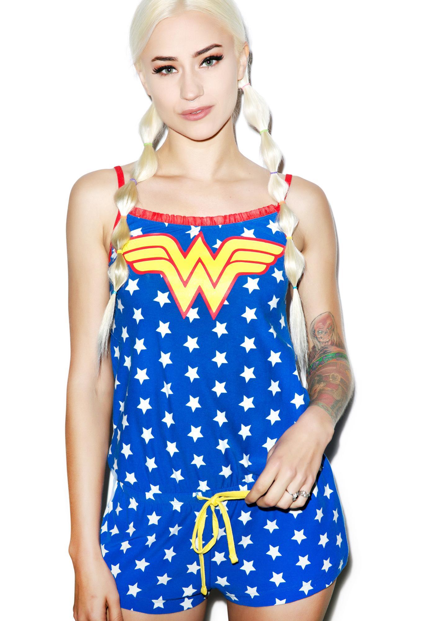 Undergirl Wonder Woman Romper