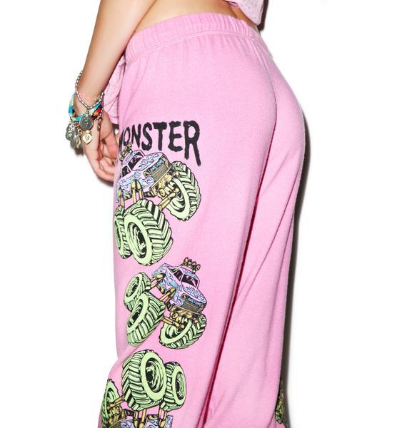 Lauren Moshi Tanzy Neon Monster Truck Pants