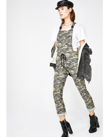 Search N' Rescue Camo Overalls