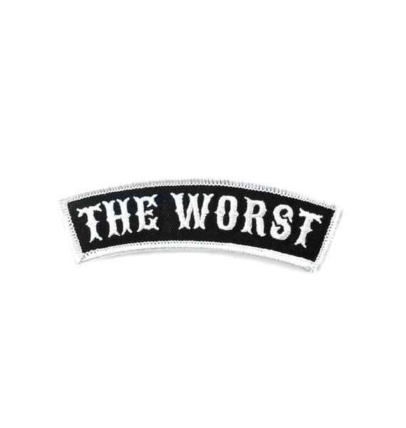 Sourpuss Clothing The Worst Patch