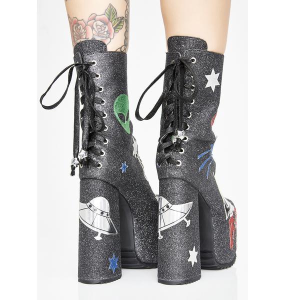 Current Mood Space Invasion Platform Boots