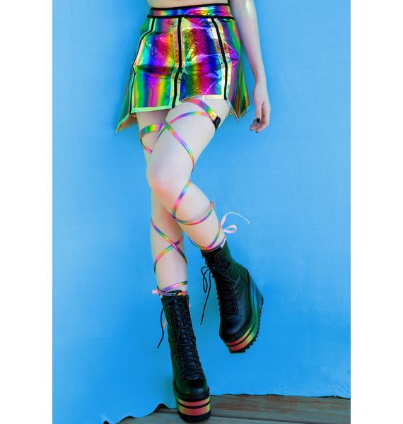 Technicolor Dreams Leg Wraps