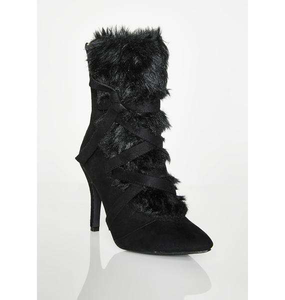 Night Cozied Up Ankle Booties