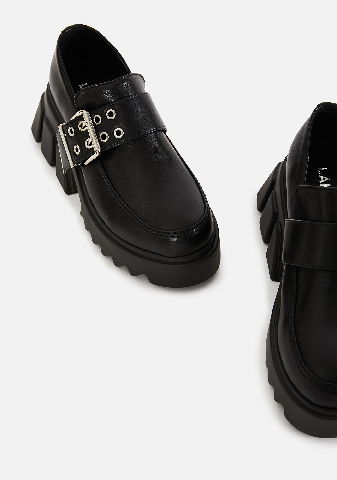 Lamoda For The Books Platform Loafers