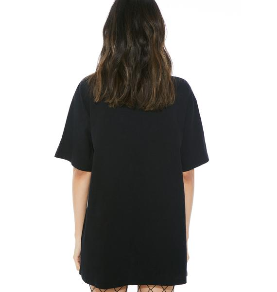 Total Hate Lace-Up Tee