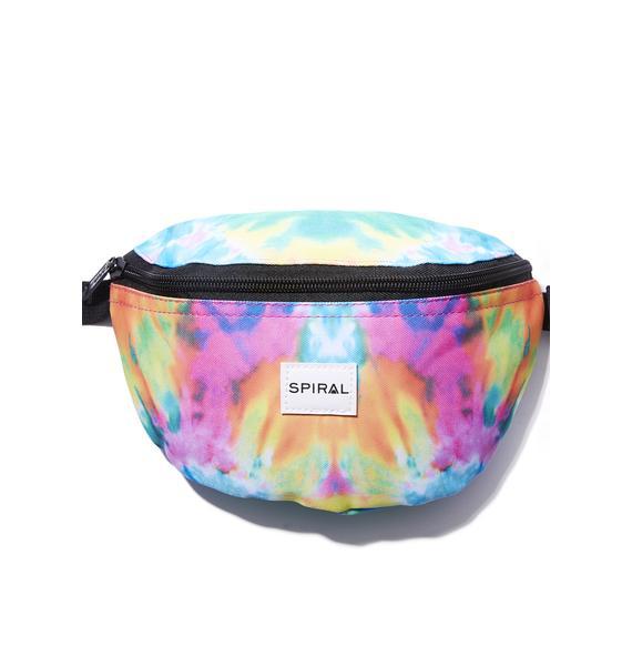 Spiral UK Trance Harvard Bum Bag