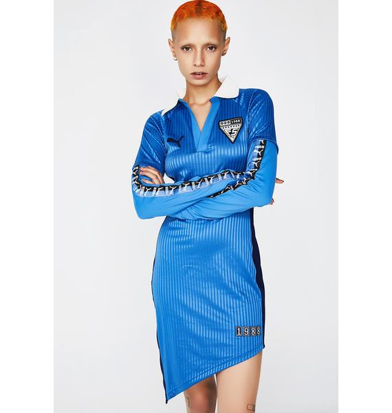 PUMA FENTY PUMA By Rihanna Asymmetric Jersey Dress