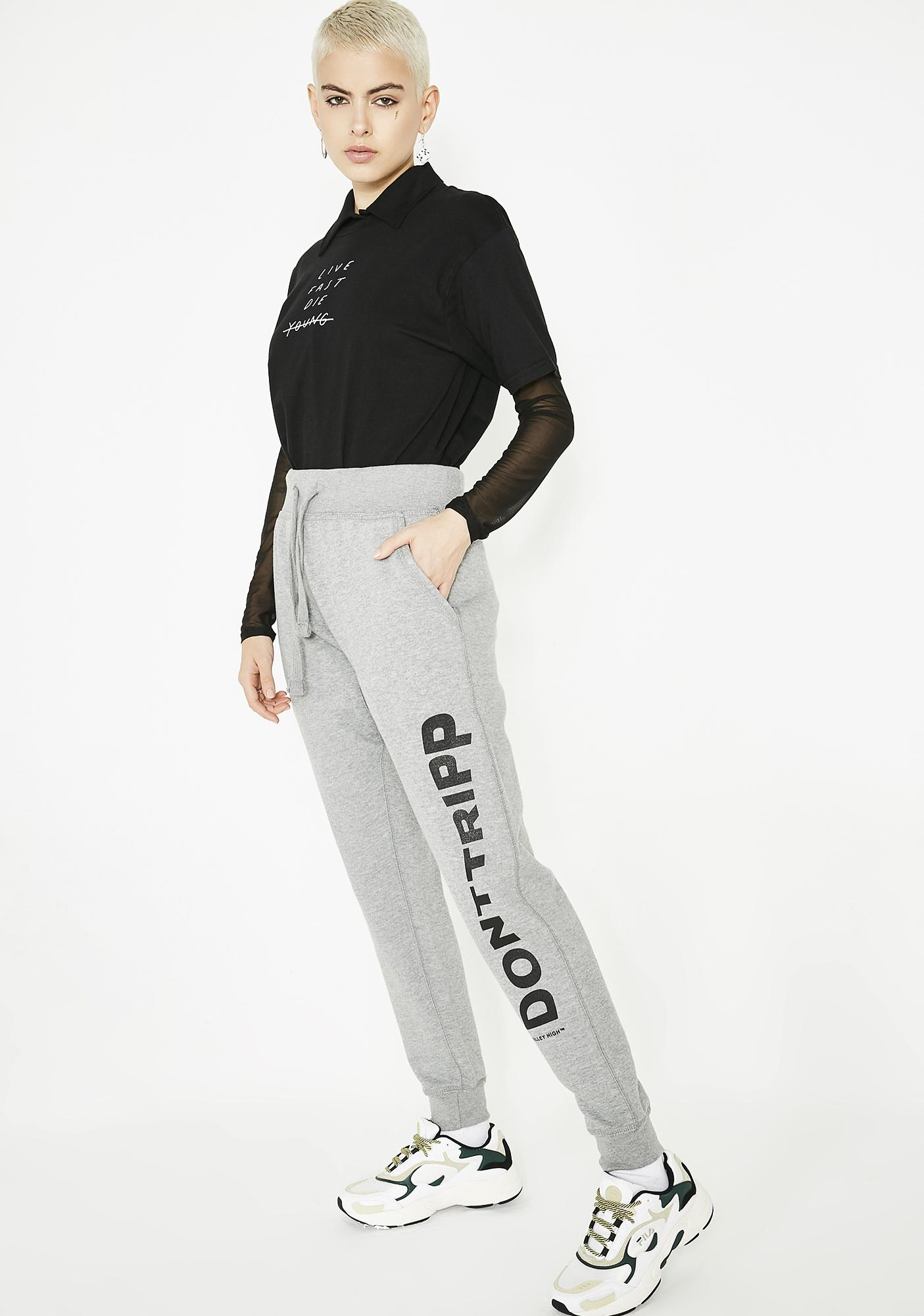 Valley High Don't Tripp Jogger Pants