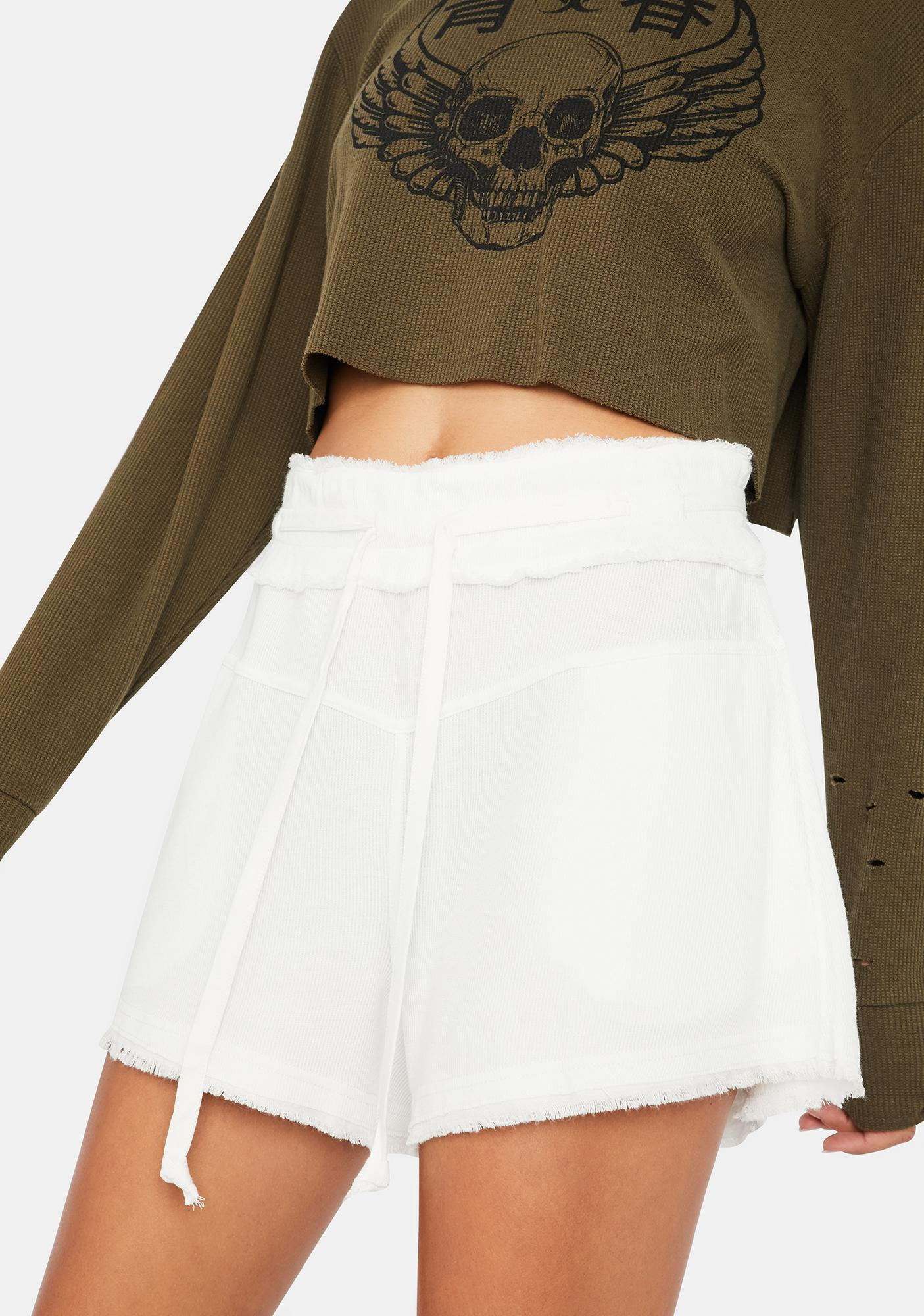 Free People Up And Fly Comfy Lounge Shorts