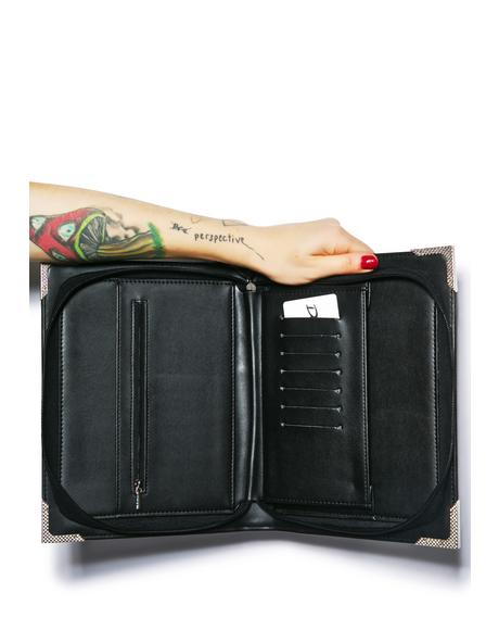 Black Magic Clutch Bag